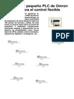 _El Potente y Pequeño PLC de Omron Diseñado Para El Control Flexible