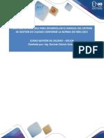 17-Fase 7-Estructura Del Manual de Calidad-IsO9001-2015