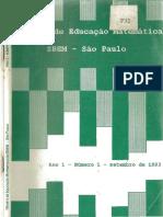 1993 Revista de Educaçao Matematica Da SBEM-SP