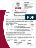France Conext TL 15 and 20 Certificate of Conformity UTE C 15 712 1 VDE v 0126-1-1 ERDF NOI RES 13E FRE