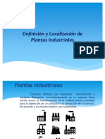 Definición y Localización de Plantas Industriales
