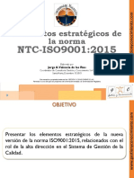 Elementos Estrategicos Norma ISO9001 2015
