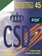 Ed. Fisica Valores CSF