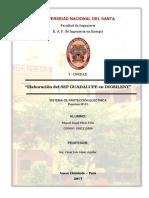 Informe Nº 01 - Elaboración de Un SE. en DIGSILENT