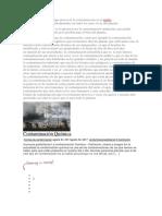 Existen Muchas Formas Que Provocan La Contaminación en El