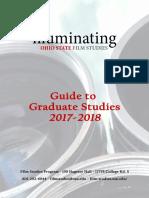 FS Guide to Graduate Studies Online