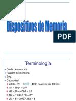 Dispositivos de Memoria Cor 2017