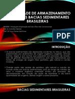 POSSIBILIDADE DE ARMAZENAMENTO DE co2 NAS BACIAS SEDIMENTARES - MARCIA KONRAD.pptx