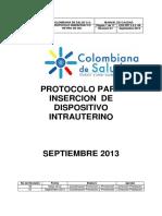 2.4.2-08 Protocolo Insercion de Diu
