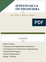 El Contexto de la Gestion Financiera