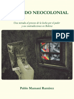 El Estado Neocolonial- Pablo Mamani Ramirez
