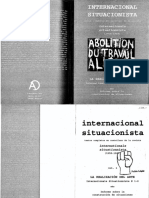 Internacional Situacionista Vol 1