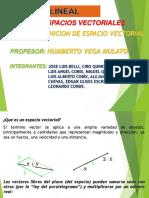 Exposicion de Algebra Lineal