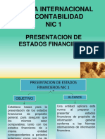 Nic-1 Estados Financieros