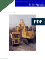 Course Komatsu Pc4000 Hydraulic Mining Shovel Application Front Shovel Backhoe Attachment