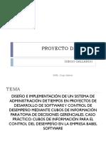 Proyecto de Tesis Diego Gallardo. Espel - Diego Gallardo