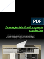 Viviendas Bioclimaticas