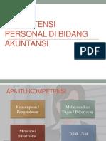 Kompetensi Personal Di Bidang Akuntansi