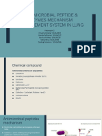 Patoimun_Kelompok 2_Tugas 2_Mekanisme antimicrobial enzyme and peptide and complement system in lung - Copy.pptx
