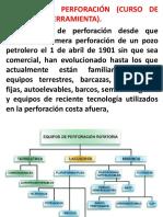 1.1- 1.5. Equipo de Perforación y Caracteristicas (2)