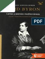 Cartas y Poesias Mediterraneas - Lord Byron