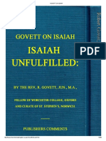 Govett on Isaiah