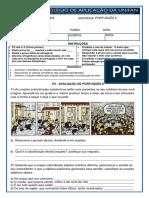P2 de Português II 3ª Série E.M.