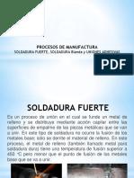 Tipos-De-uniones- Proceso de Manufactura