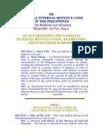 Jc National Internal Rvenue Code