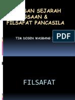 1. Sejarah Kebangsaan & Filsafat Pancasila -Edit 2016