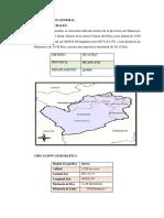 Informe de Monitore en Huachac...