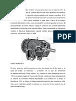 Funcionamiento Motores de Inducción