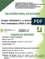 Relatório Fernanda - Mod 2.12.2017