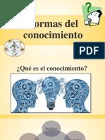 Formas Del Conocimiento.pptx