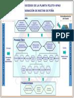 Mapa de Procesos planta piloto UPAO