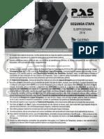 PAS 2 - Subprograma 2016/2018