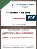 Aula 06 - Classificação Dos Solos