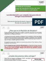 Guia UnADM Revision de Estudios 2017-2