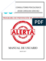 Programa Alerta Manual de Usuario