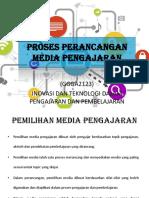 Proses Perancangan Media Pengajaran