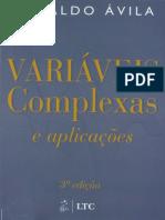 Livro Variaveis Complexas Geraldo Ávila