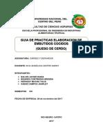 Facultad de Ciencias Agrarias Queso de Cerd