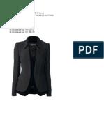 Pattern of a Female Jacket