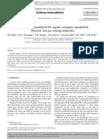 CSA doped polyaniline/CdS organic–inorganic nanohybrid