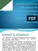 Determinación de Indicadores de Eutrofización en El Embalse