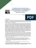 Dialnet-ElEjercicioDeLaDocenciaPorProfesionalesSinTituloPe-5490750