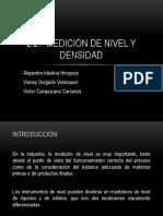 Medicion de Nivel y Densidad (Exposicion)