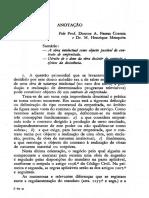 Anotação Henrique Mesquita e Ferrer Correia