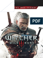 The Witcher 3 Wild Hunt Game Manual PC ES