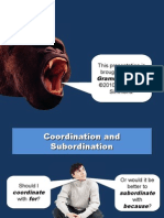 Coordinate Subordinate
